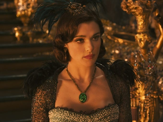 The battle between good and evil will be in full swing this spring when Disney's 'Oz: The Great and Powerful' hits theaters March 8. Before then however, fashion fiends can channel their inner Wicked Witch (Rachel Weisz) with items from HSN's 'Oz'-inspired capsule collection, due March 1. USA TODAY's Arienne Thompson takes an exclusive first look at the goods.