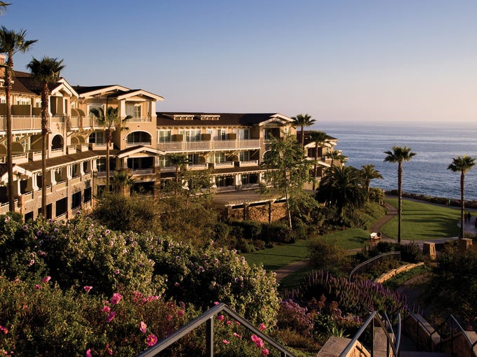 """The much-awaited AAA Five Diamond Awards for 2013 are out, and USA TODAY has assembled a photo tour of the newest crop of """"best of the best"""" hotels and restaurants. Nine hotels and four restaurants received AAA's top title. The oceanfront Montage Laguna Beach is about an hour's drive from Los Angeles. The resort's guest rooms have spectacular views of the Pacific Ocean."""