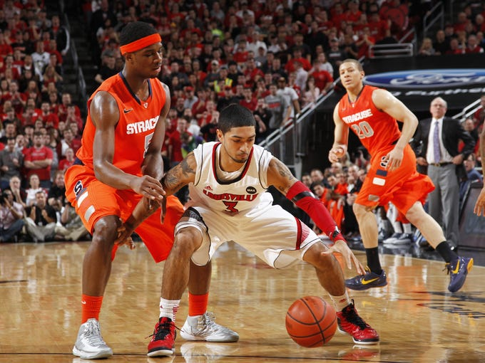No. 6 Syracuse 70, No. 1 Louisville 68