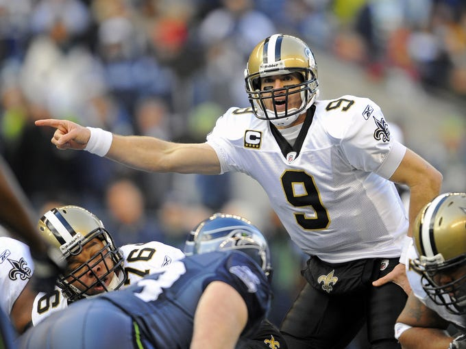 New Orleans Saints quarterback Drew Brees has been an enthusiastic supporter of his adopted hometown.