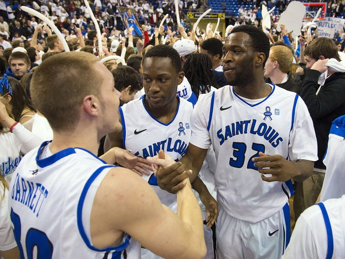 Saint Louis is one of five Atlantic 10 teams on the NCAA tournament bubble.