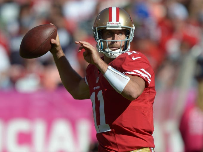 QB Alex Smith, San Francisco 49ers