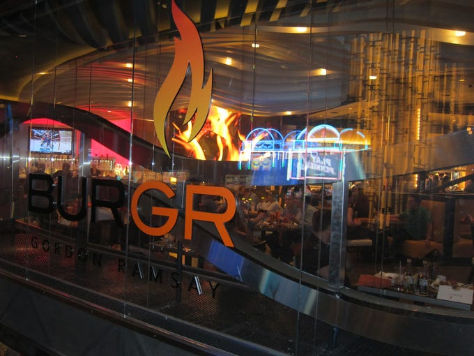 The main entrance wall of BurGR:– the steel sculpture within will blaze fire when work is completed.