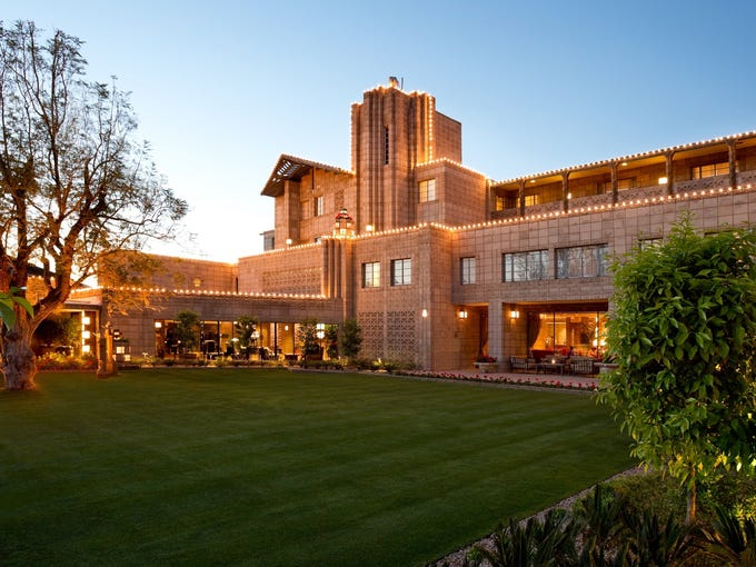 Frank Lloyd Wright served as a consulting architect on the Arizona Biltmore in Phoenix. It has hosted many presidents and was even where Nancy and Ronald Reagan honeymooned.