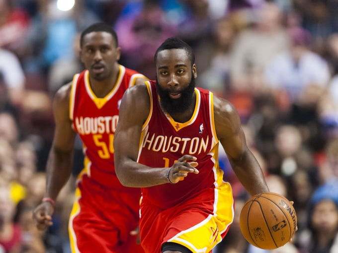 After being the No. 3 option behind Kevin Durant and Russell Westbrook in his first three years with the Thunder, James Harden has broken out with the Rockets. Take a look back at some of the biggest moments of Harden's career so far.