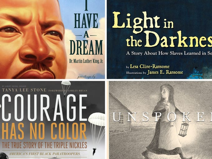 Celebrate Black History Month with four new illustrated books for young readers.