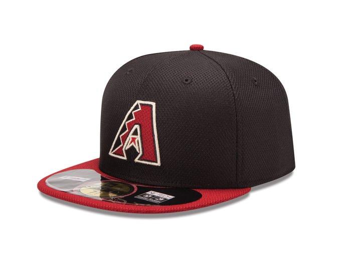 Team-by-team spring training batting practice lids: Arizona Diamondbacks