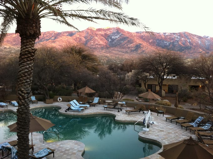Destination spas help change people's' lives and living habits. Miraval outside Tucson, Ariz., was popularized by Oprah Winfrey and is one of the top luxury spas in the world. The view of the Santa Catalina Mountains from the main pool is world-class.