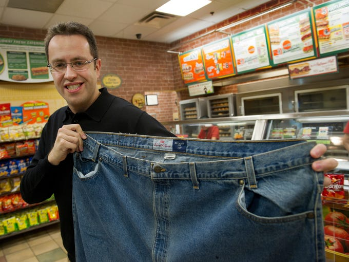 Jared Fogle, aka the Subway guy, has done what many dieters dream of. He lost 245 pounds in a year and has continued to keep the weight off. Here is a look back at Jared before and after the Subway diet.  To this day, Fogle still carries around the 58-inch waistline jeans he once wore.