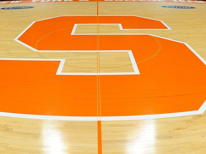 The most eye-catching college basketball court logo upgrades