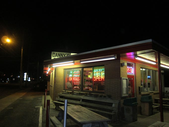 Danny's Drive-In is a true, humble, roadside stand.
