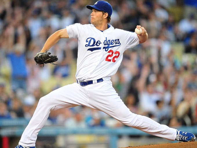 1. Clayton Kershaw, Dodgers: 14 W, 227.2 IP, 229 K, 2.53 ERA, 1.02 WHIP (2012 stats)