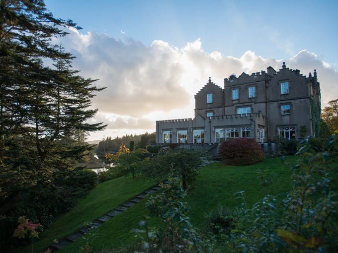 Ranging from historic castles to modern boutiques, these nine hotels are packed with Irish charm and may help inspire your next trip -- or at least help get you in the St. Patty's spirit. First up, Ballynahinch Castle Hotel. The 40-room hotel is a less formal, more accessible alternative to the more famous Ashford Castle to the east. It has a riverfront location amid the wild, unspoiled beauty of Connemara and decor that's alternately homey and elegant. It's more of a manor house than a castle, but the main structure dates to the 18th century and both the building and the estate are steeped in history. The 450-acre grounds offer a range of activities, including beautiful hikes, woodcock shooting and fishing. Both restaurants serve terrific gourmet cuisine using fish, game and mushrooms from the surrounding region.