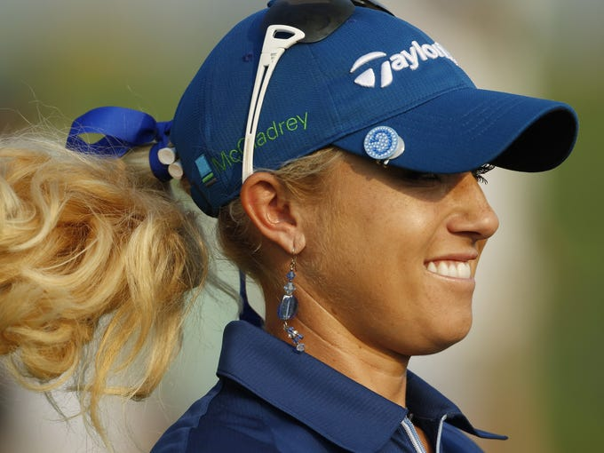 Natalie Gulbis has been among the most popular players on the LPGA tour during her career. Though she has been in the top-10, and has been in the hunt at majors she has struggled with a variety of injuries and has only one career title.