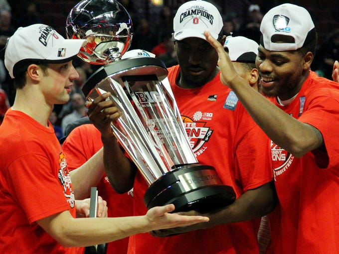Ohio State beat Wisconsin to win the Big 10 tournament.