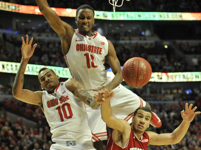 Ohio State beat Wisconsin in the finals.