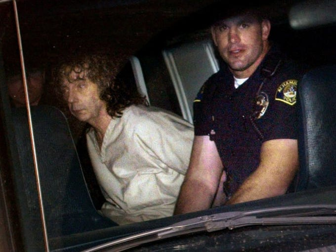 """When legendary record producer Phil Spector was arrested Feb. 3, 2003, for allegedly shooting a woman to death at his suburban mansion in Alhambra, Calif., it set off years of legal wrangling and two trials that ultimately led to a second-degree murder conviction. The story is being told in an HBO movie, """"Phil Spector,"""" starring Al Pacino."""