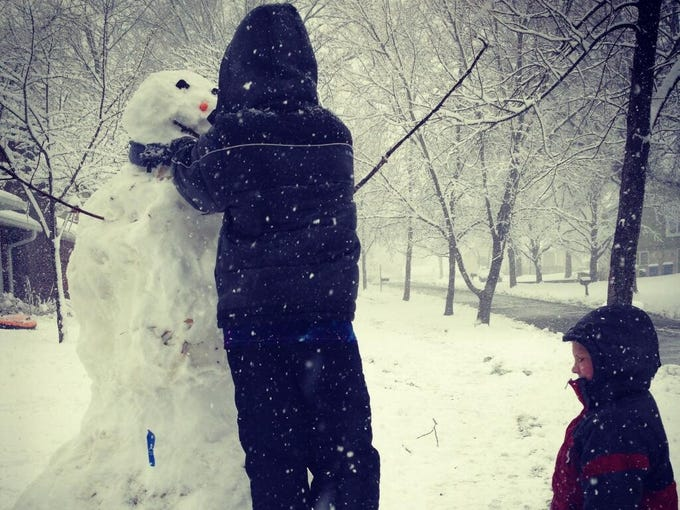 St. Louis, Mo. Have recent snow photos? Submit them by e-mail to community@usatoday.com or by tweet using #USAweather.