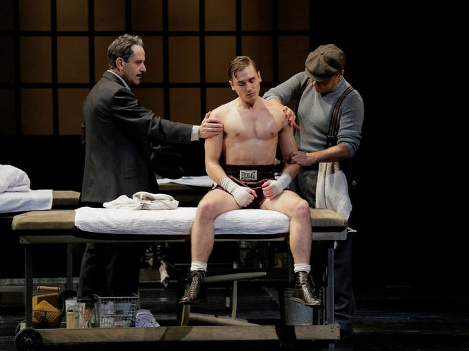 And, the Tony Award nominees are ... 'Golden Boy' (play)   Pictured: Tony Shalhoub, left, Seth Numrich and Danny Burstein