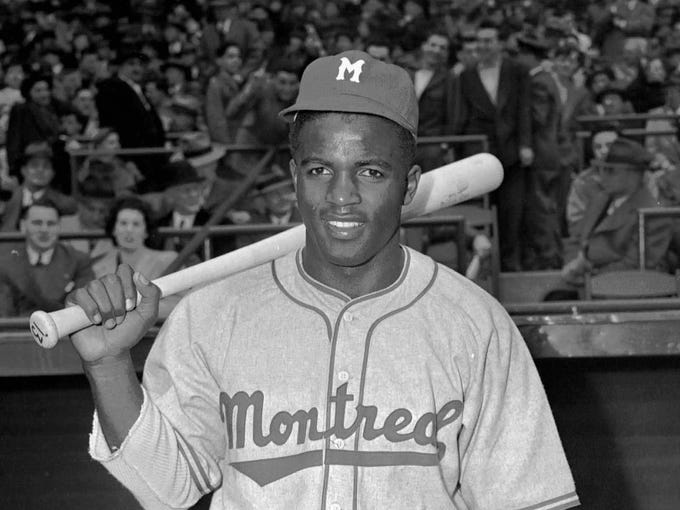 Jackie Robinson, the most famous #42 of all time.