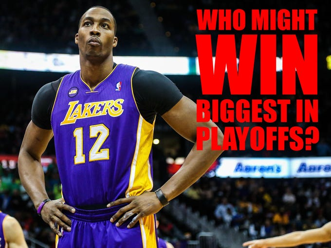Dwight Howard is the biggest name of the 2013 NBA free agent market, but he (and Chris Paul) will rake in a max contract no matter what happens in the postseason. Here we look at the 16 players with the most to gain in the playoffs.
