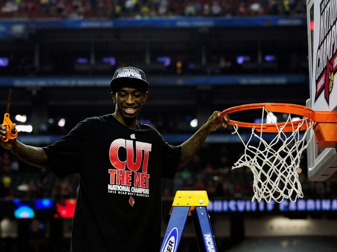 Louisville junior Russ Smith.
