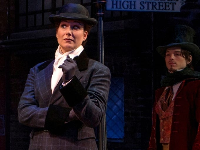 And, the Tony Award nominees are ... Stephanie J. Block in 'The Mystery of Edwin Drood.'