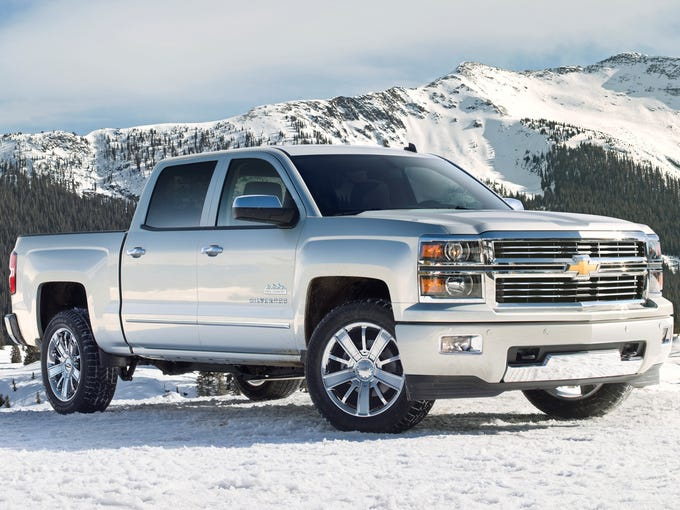 The 2014 Chevrolet Silverado High Country will compete against Ford F-150 King Ranch and Ram 1500 Laramie Longhorn, among others
