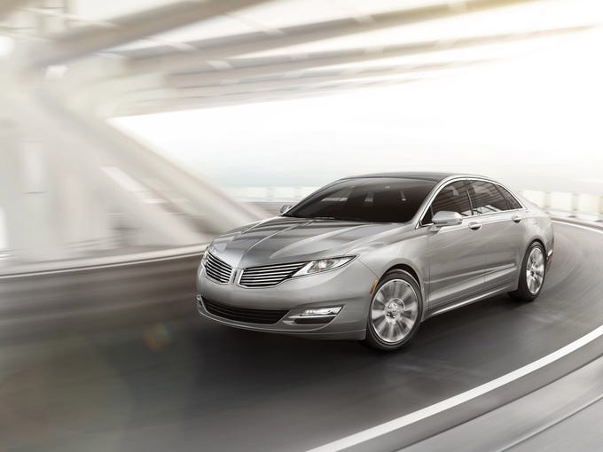 The 2013 Lincoln MKZ is the first milestone vehicle for the all-new Lincoln brand created by the dedicated Lincoln team in its new Design Studio.