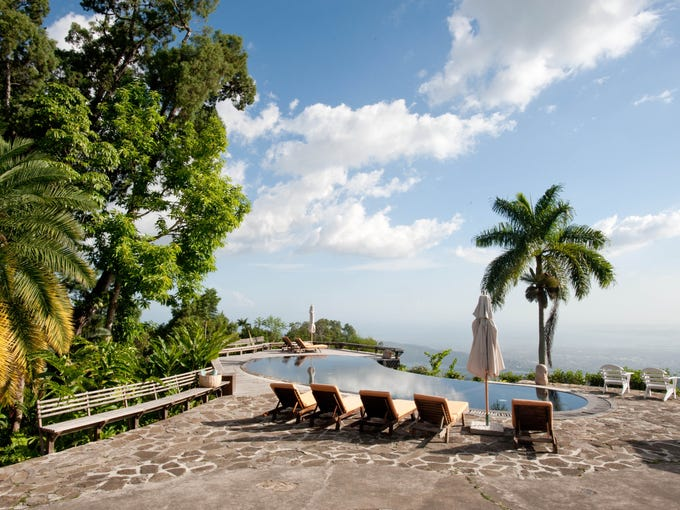 The beach, the pools, the view – these are major reasons why people travel to the Caribbean. Finding them all in one spot is ideal. Oyster.com scoured the islands to find the best infinity pools in the Caribbean. These spots – with gorgeous views overlooking the ocean – are perfect for sitting back, relaxing, and soaking up that sun. Strawberry Hill, Jamaica: This former coffee plantation nestled among the steep and winding hills of Jamaica's famous Blue Mountains is a little oasis above the very un-resort-like city of Kingston. The resort offers plenty of intimacy and privacy, with just 12 cottages on more than 26 acres. It also has the features of a larger property: an expansive spa, a breezy restaurant and bar, lush gardens and an infinity pool. It may be small, but this pool offers gorgeous views, and lacks the rowdy children of many other Jamaican resorts.