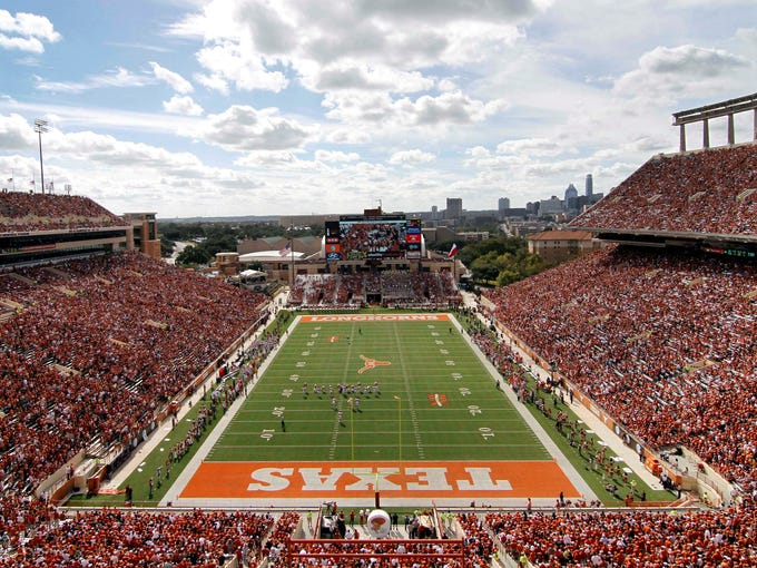Texas $163,295,115: Texas' $59.2 million in ticket revenue alone would place it among the top 50 public schools in Division I in total revenue. The $21.3 million difference in total revenue between Texas and the school with the second-highest revenue total, Ohio State, is greater than the total revenue of more than half the Division I programs.