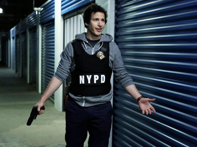 'Brooklyn Nine-Nine' (Tuesdays, 8:30 ET/PT) | An ensemble cop comedy starring Andy Samberg, pictured, and Andre Braugher.