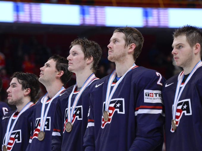 The USA won a bronze medal at the world championships, its first medal at the tournament since 2004 and third in 50 years. Its trip through the medal round.