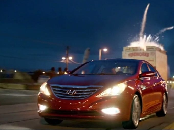 Hyundai Sonata: 10th-most safety complaints