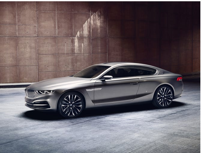 BMW and body stylist Pininfarina have combined on a new sedan concept