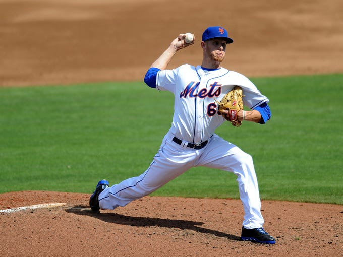 Zack Wheeler, P, Mets: He's been told he probably only has a start or two left at Class AAA Las Vegas. The key prospect acquired in the 2011 trade of Carlos Beltran to San Francicsco would be on schedule to pitch June 6 at Washington or June 11 at home against St. Louis.