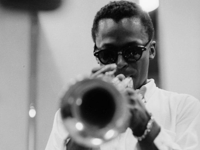 'Miles Davis: The Art of Cool' runs June 8-July 28 at the Napa Valley Museum in Yountville, Calif., showcasing 35 of the musician's original sketches and artwork.