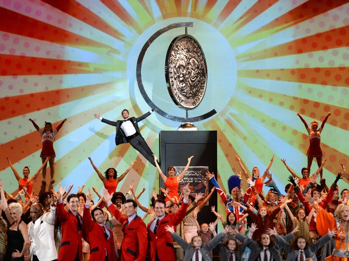Host Neil Patrick Harris and casts of shows currently on Broadway get the 67th Annual Tony Awards off to a rousing start at Radio City Music Hall in New York. Take a look at the performances from Sunday's show.