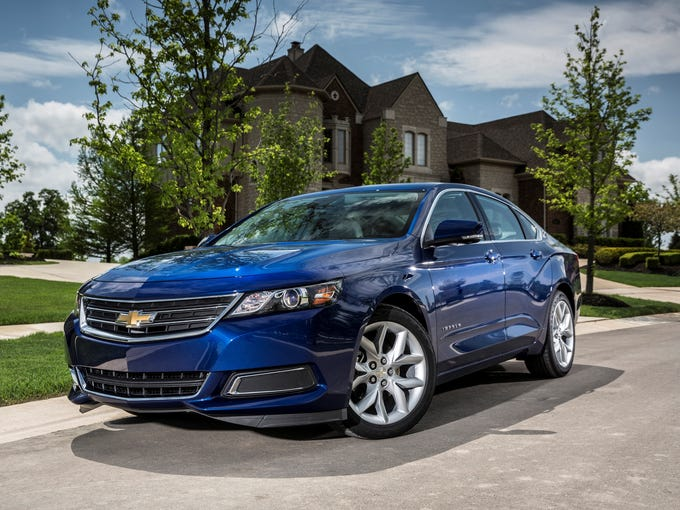 The 2014 Chevrolet Impala, on sale since April, is a looker. It's the10th-generation of Impala, which was launched in 1957 as a 1958 model.