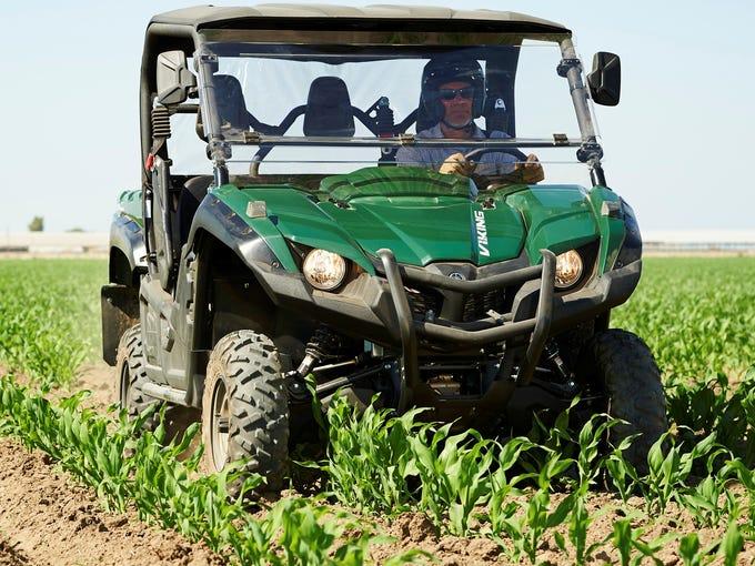 Yamaha has high hopes for the Viking three-passenger ATV