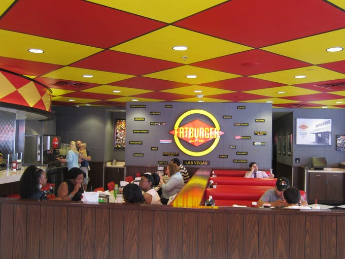 Fatburger has become a global chain while retaining much of its '50s appeal: a cross between a classic diner and a modern fast-food joint.
