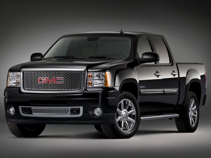 Best large light-duty pickup (tie): GMC Sierra