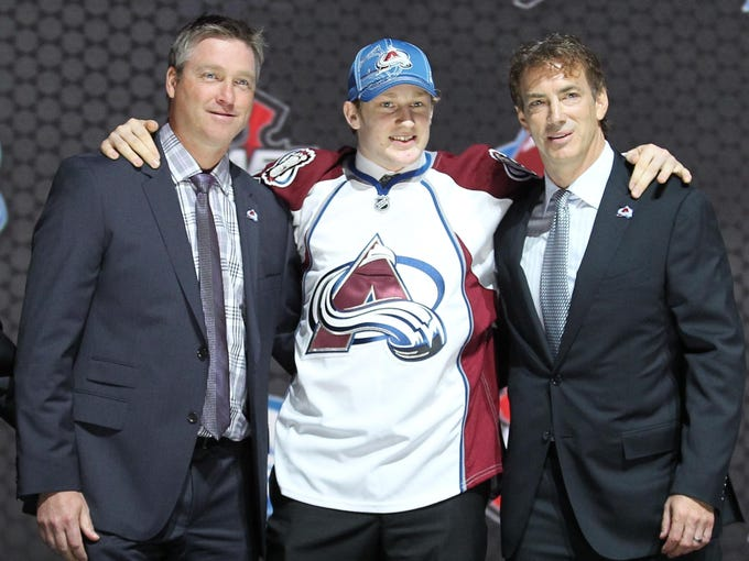 1. Nathan MacKinnon (center, Halifax/QMJHL) - Colorado Avalanche.