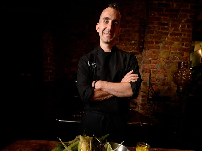 Can't wait for Fourth of July? Neither can Iron Chef Marc Forgione. The patriotic holiday's side benefit is an influx of fresh summer produce, including one of the season's sweet and savory delights: corn.