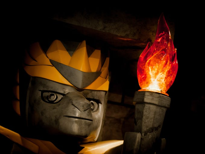 LEGOLAND Florida is the only place where LEGO fans can experience The World of Chima, a fictional land based on a new line of Lego toys and a Cartoon Network show,