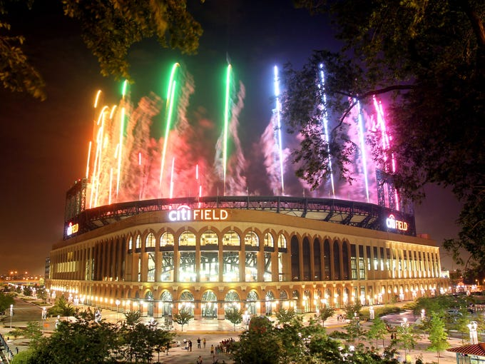 Citi Field in New York, home of the Mets, will host the All-Star Game on July 16. Fans voted on the starting position players as well as the AL's designated hitter.