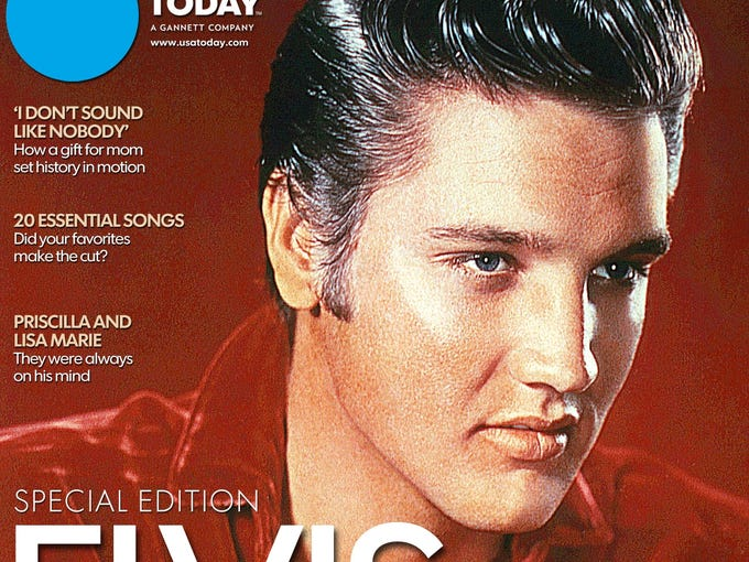 USA TODAY marks the 60th anniversary of Elvis' first recording with a 48-page keepsake edition, on sale through Aug. 12. To celebrate the occasion, we invited our readers to share their Elvis-related photos.<p></p>