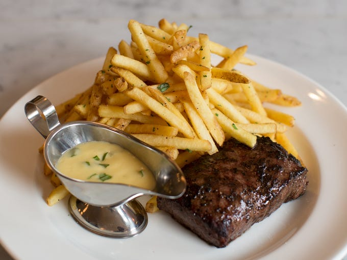 Chef Spike Mendelsohn recently opened Bearnaise in Washington, D.C., a French-inspired restaurant that specializes in the quintessential French bistro dish, steak frites.