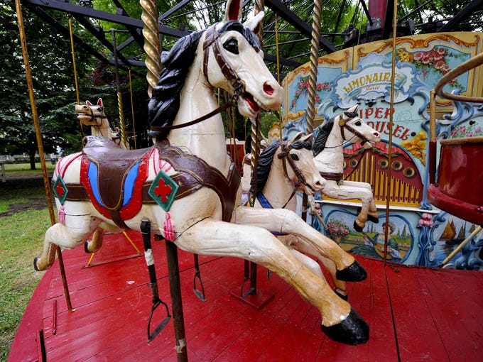 Fete Paradiso, the world's first festival of vintage French carnival rides and carousels, will make its American debut Bastille Day weekend, July 13 -14, on Governors Island in New York City.