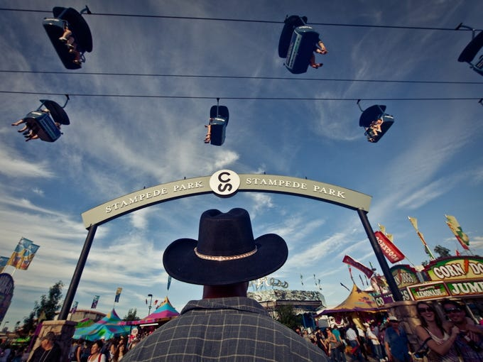 The annual Calgary Stampede is a Woodstock for cowboys and cowgirls, saysChip Conley, founder of Fest300.com 'It's really the biggest rodeo in the world,' he says.